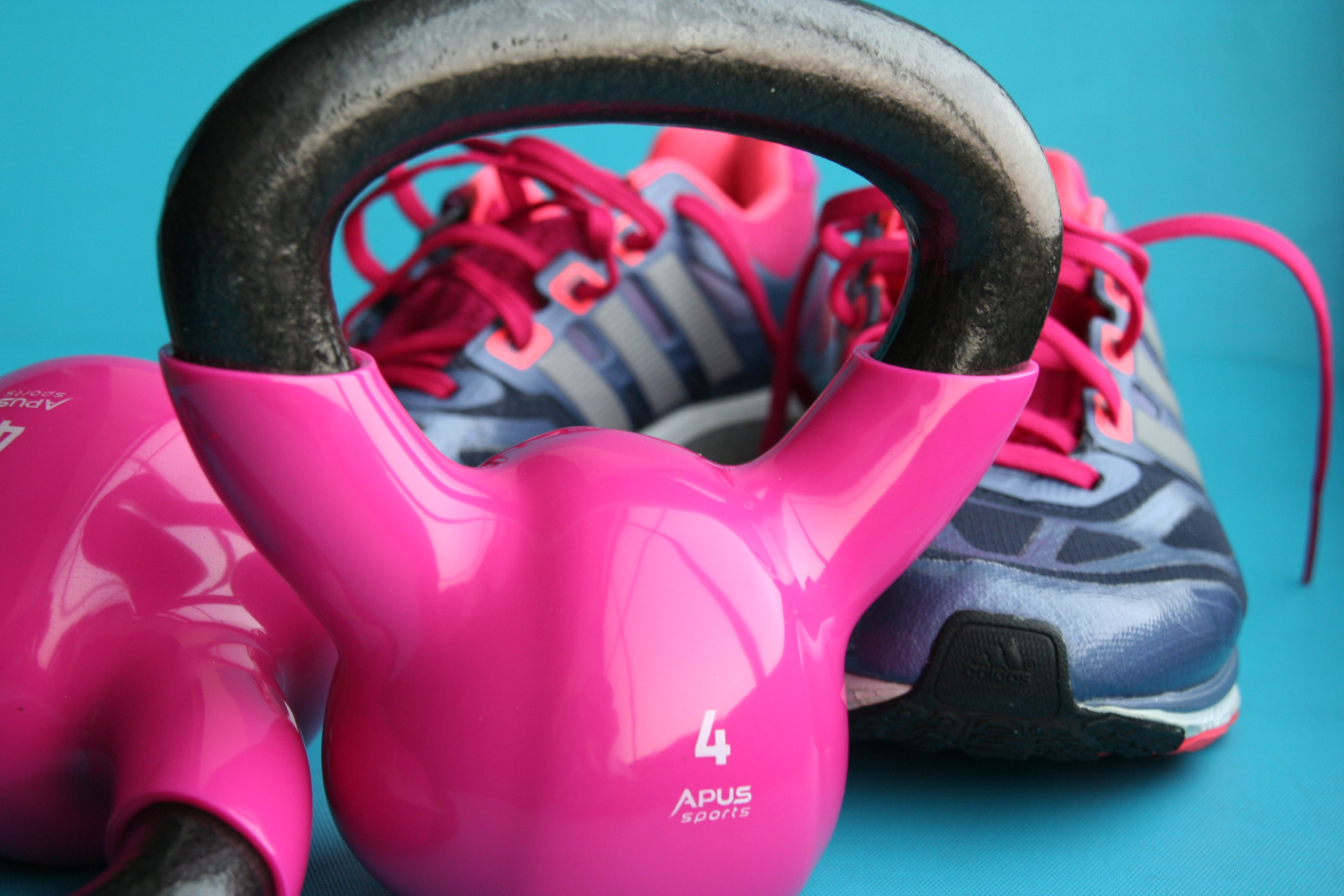 Photo of Kettlebell and Shoes